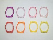 Technomarine Chronograph Case Cover Purple Pink Red Orange Yellow Neon Light