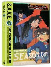 Case Closed - First Season 1 One (DVD, 2013, 4-Disc Set, S.A.V.E.)