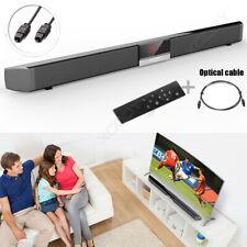 40W TV Sound Bar Home Theater Soundbar 4.0 System Subwoofer Coaxial Optical 3D