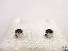 orecchini argento ametista 3,5 Earrings Swarovski stone