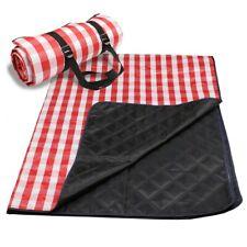 (Black/Geometry) Waterproof Packable Pocket/Picnic Outdoo Blanket Foldable