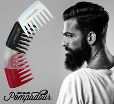 Jack Dean Pompadour 8 Teeth Streaker Comb - Pomadour Hair Style - 4 Colours