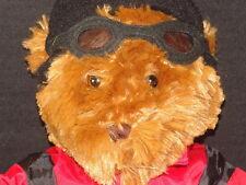 NEW SNOW BOARD X GAMES LIZ CLAIBORNE SKI BUM BEAR PLUSH GOGGLES STUFFED ANIMAL