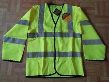 New Mens Hi Viz Streetwise Sleeved Vest Size Small, XX-Large