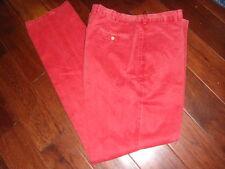 PETER MILLAR Raliegh Washed Twill Flat Front Pants MC00B84  36 waist
