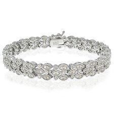 2.00 CTTW Diamond Marquise Tennis Bracelet