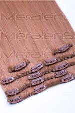 Queens Hair Echthaar Clip In Extensions Haarverlängerung 55 cm SET