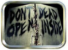 THE WALKING DEAD,DEAD INSIDE 2oz GOLD TOBACCO TIN,STASH CAN,STORAGE TIN