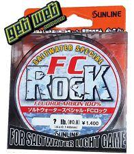 SUNLINE FC ROCK FLUROCARBON LEADER LINE