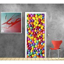 Affiche poster pour porte - Bonbons 731 Art déco Stickers