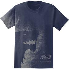 "Game Of Thrones STARK SIGIL SPLATTER  ""WINTER IS COMING"" T-Shirt NWT Licensed"