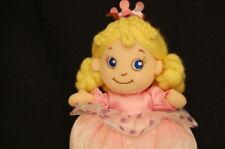 "Lovey Doll Princess Pink Baby ABC Development  7"" Plush Stuffed Animal Lovey Toy"