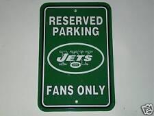 NFL Parking Sign, New York Jets, NEW