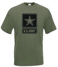 T-shirt Maglietta J1811 US Army Esercito Americano Stemma Bassa Visibilità
