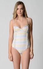 Rusty Ladies Sunrise One Piece Swimsuit Swimwear sizes 6 10 12 Colour Multi