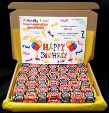 Negro Jack Fruta Ensalada Retro Caramelo Caja De Regalo Personalizado Cumpleaños