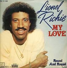 "LIONEL RICHIE - MY LOVE 7"" SINGLE (S1174)"