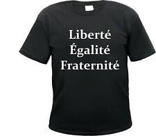 Liberte T-shirt, Rivoluzione francese, libertà, uguaglianza, fraternità