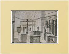 ROMA:CHIESA S.CLEMENTE-Interno=Passepartout=Artaud.1835