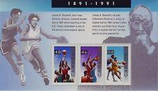 1344 Souvenir Sheet Basketball (1991)