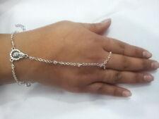 baciamano gioiello rosario corona pl argento bracelet cristalli   bracciale