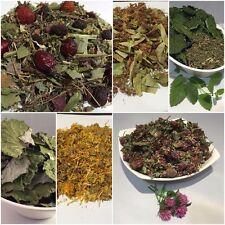 Herbal tea - dried Linden, Calendula (Marigold), Coltsfoot, Herbal mix flowers