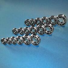 Kugellager Rikula 6000 - 6006, 6200 - 6207, 6300 - 6305, 10 - 25 mm Welle, offen