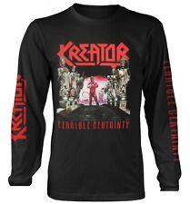 Kreator 'Terrible Certeza' Long Sleeve Shirt - Nuevo y Oficial