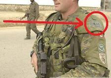 NATO ISAF JSOC COALITION FORCES SP OPS JTF2 burdock-hook PATCH: OD CANADIAN FLAG