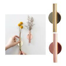 Wall Mount Flower Tube for Flower Display Wall Metal Vase Decoration Holder
