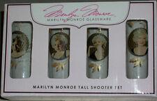 Marilyn Monroe Shooter Glasses Head Shot Bar Glass Gay Int Collectible Xmas Gift