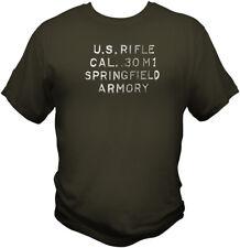 M1 Garand Heel Stamp T Shirt WWII CMP NRA Harvester Springfield Winchester