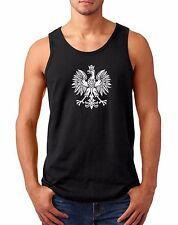 Tank Top Poland Eagle T-shirt Polish Pride Polska FIFA World Cup Championship
