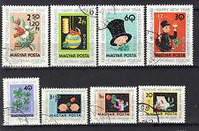 Hungary 1963 New Year Good Luck Symbols CNH Set SC # 1556-1561, B235-B236