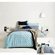 250TC Cotton Coast Reversible Quilt Cover Set by Ardor SINGLE DOUBLE QUEEN KING