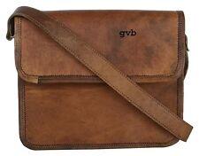Bag Leather Vintage personalized Shoulder Purse Brown Handbag Messenger Laptop