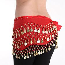 1PCS Danse Ventre Belly Ceinture Echarpe Foulard Orientale Sequins Pièce Monnaie