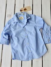 SCOTCH SHRUNK -  Sommercotton Baumwoll-Hemd Langarm light blue 4 -14 neu! Sale %