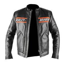 WWE Bill Goldberg Harley Davidson Vintage Motorcycle Leather Jacket (All Sizes)