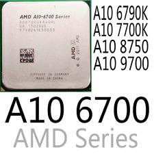 AMD Series A10 6700 A10 6790K A10 7700K A10 8750 A10 9700 CPU Processor