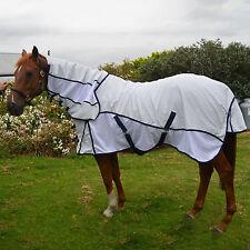 Unicorn White Hybrid Combo Neck Cotton Ripstop Horse Rug Mesh Inserts 4'6 ~ 6'9