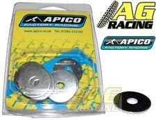 Apico Fender Arandela Arandelas 10 Pack m6x22mm M6 22mm Motocross Enduro 10 Pc Nuevo