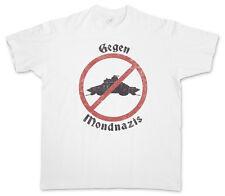Contra mondnazis logo T-Shirt Iron Sky Vril nazis Haunebu UFO vuelo disco t Shirt