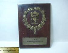 WWII 1940 KINGDOM BULGARIA WINTER CROSS COUNTRY AWARD TROPHY