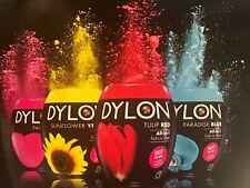 ** Dylon MACHINE DYE (350gm) 25 Couleurs Nouveau **