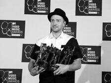 Justin Timberlake VMA Pop Music Singer BW Rare HUGE GIANT PRINT POSTER