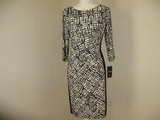 Lauren Ralph Lauren Printed Jersey Dress for Woman SIZE 6/12   NWT MSRP$140