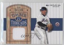 2004 Donruss Timber & Threads #TT-20 Tom Glavine New York Mets Baseball Card