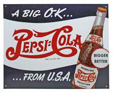 New Vintage Pepsi Cola MAN CAVE Sign gift xmas new vintage