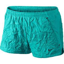 NWT Nike Women's Dri-Fit Lux Textured Running Shorts Size L Turbo Green